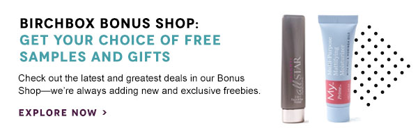 Birchbox Bonus Shop