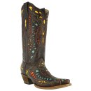 Corral Women's Butterfly Inlay Western Boots
