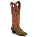 """Tony Lama Women's 3R 16"""" Buckaroo Boots"""