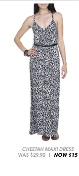 Shop Printed Belted Maxi Dress