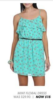 Shop Chiffon Ruffle Floral Dress