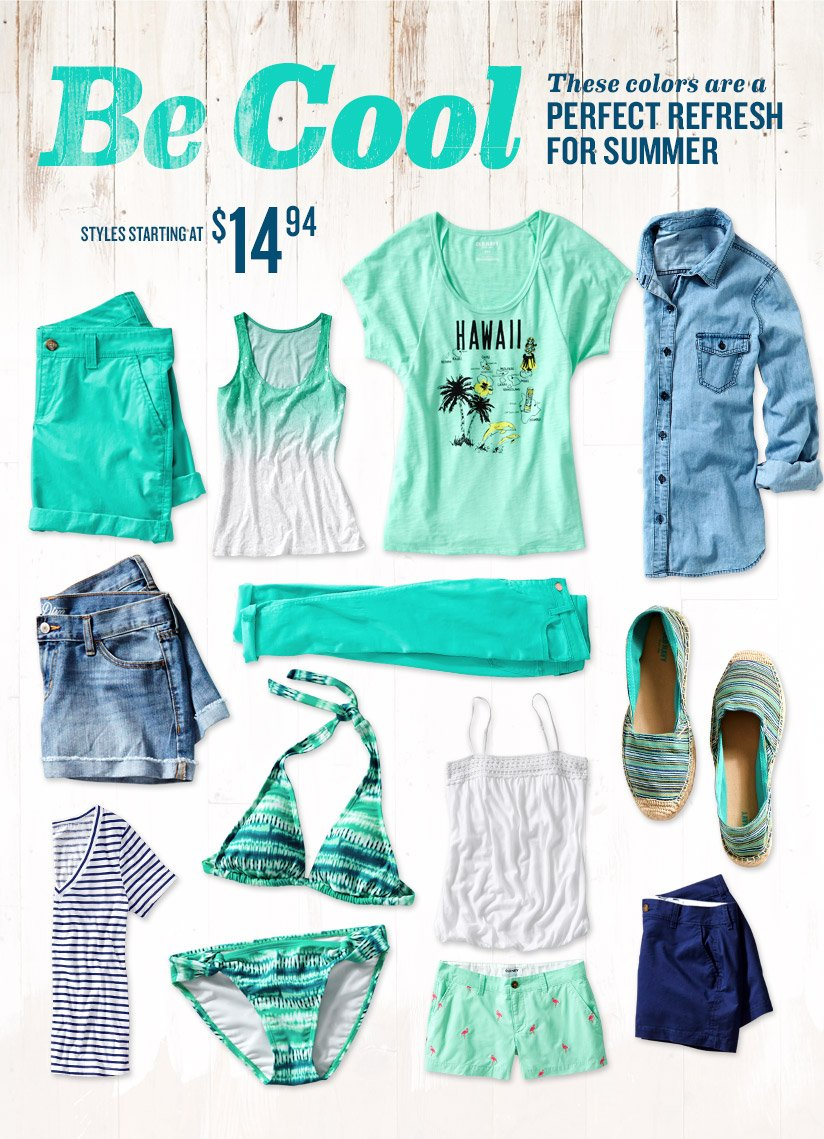 Be Cool | These colors are a PERFECT REFRESH FOR SUMMER | STYLES STARTING AT $14.94