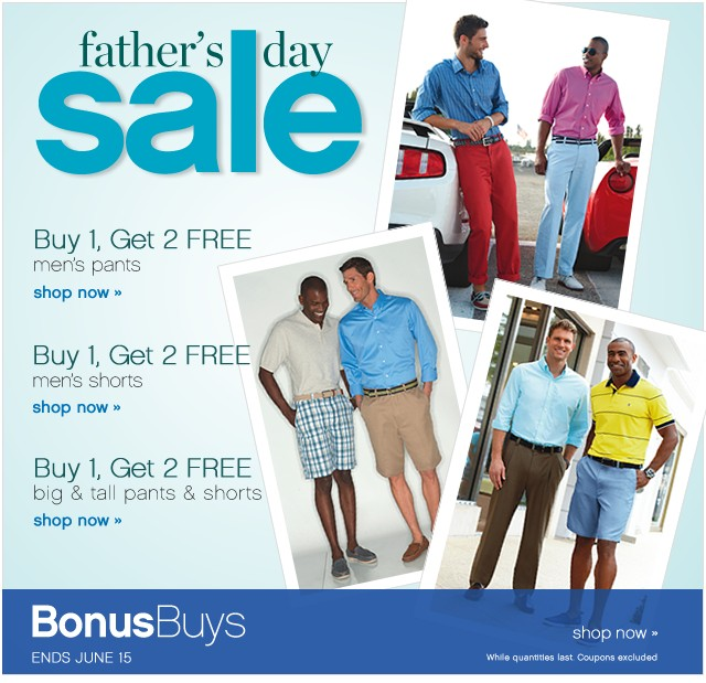 Father's Day Sale. Bonus Buys Ends Sat, June 15. Shop now.