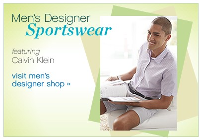 Men's Designer Sportswear. Visit men's designer shop.