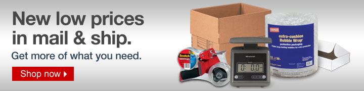 New low  prices in mail and ship. Get more of what you need. Shop now.