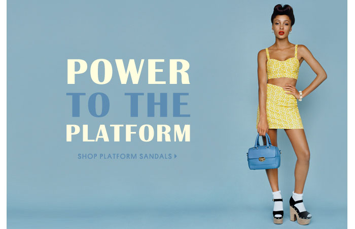 Power to the platform - Shop platform sandals
