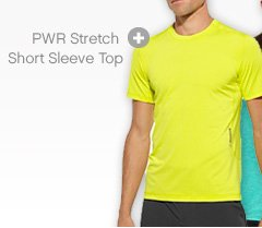 PWR Stretch Short Sleeven top