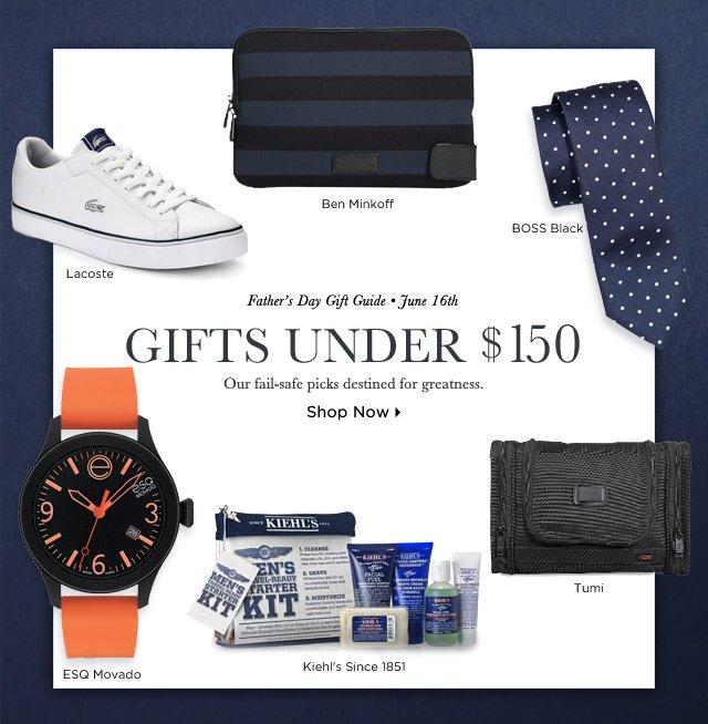 Shop Gifts Under $150