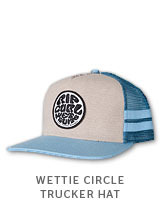 WETTIE CIRCLE TRUCKER HAT