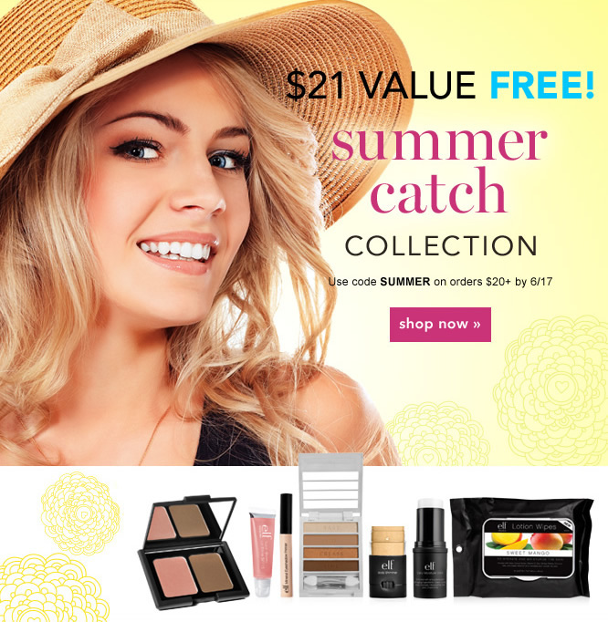 $21 Value Free - Summer Catch Collection. Use Code: SUMMER - Shop Now
