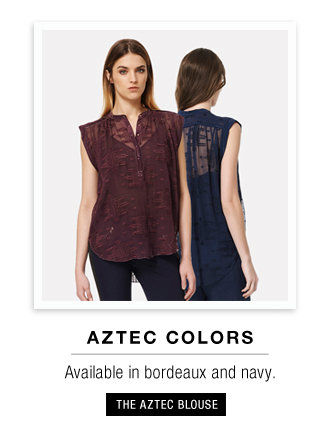 The Aztec Blouse
