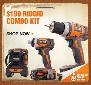 $199 RIDGID Combo Kit