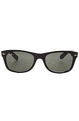 The 52mm New Wayfarer Sunglasses in Black