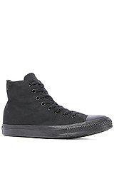 The Chuck Taylor All Star Hi Sneaker in Black Monochrome