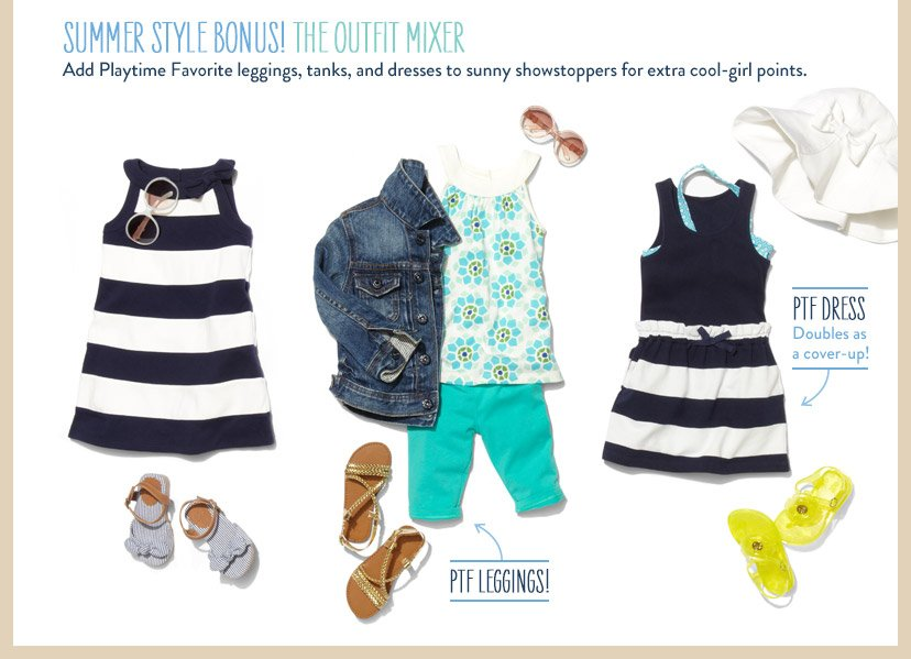SUMMER STYLE BONUS! THE OUTFIT MIXER