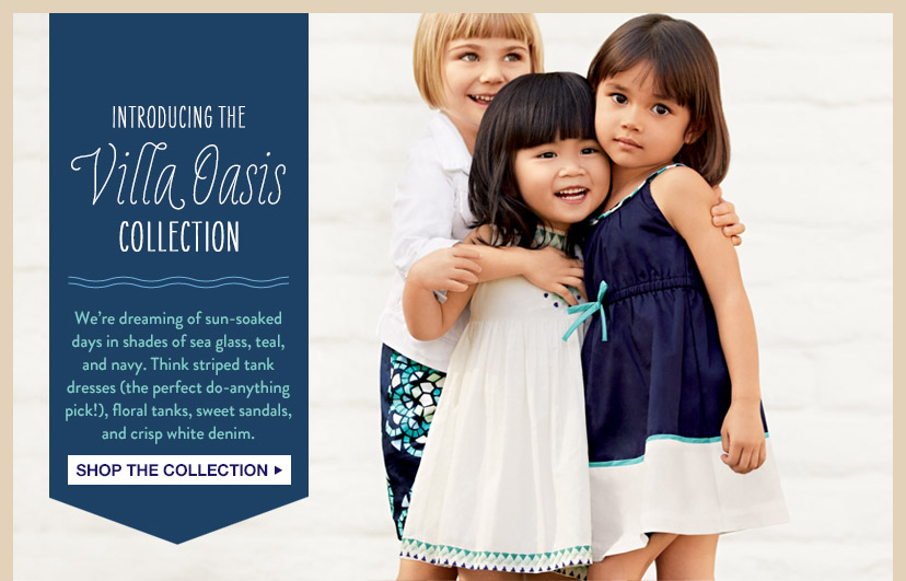 INTRODUCING THE Villa Oasis COLLECTION | SHOP THE COLLECTION