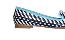 catrin woven slipper