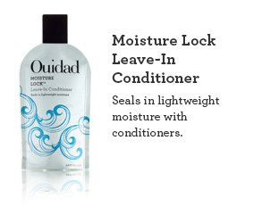 Moisture Lock Leave-In Conditioner Seals in lightweight moisture with conditioners.