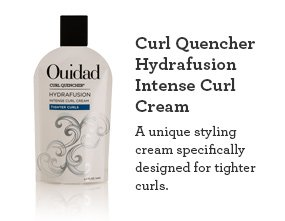 Curl Quencher Hydrafusion Intense Curl Cream A unique styling cream specifically designed for tighter curls.