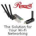 Rosewill - The Solution for Your Wi-Fi Networking.