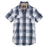 Earthkeepers® Short Sleeve Harmon Plaid Shirt