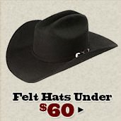 Felt Hats Under 60 on Sale