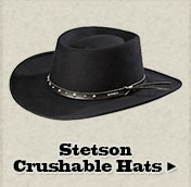 Stetson Crushable Hats on Sale