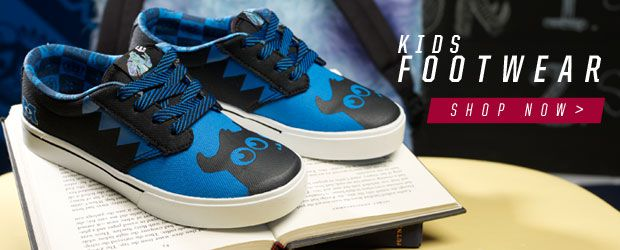 etnies Monsters University Kids Shoes