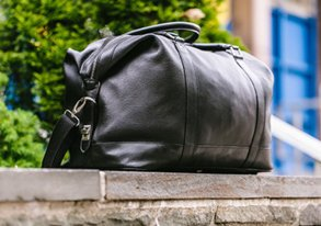 Shop Load Up on Leather: Bags & More