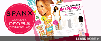 SPANX as seen in People Style Watch. Learn More!