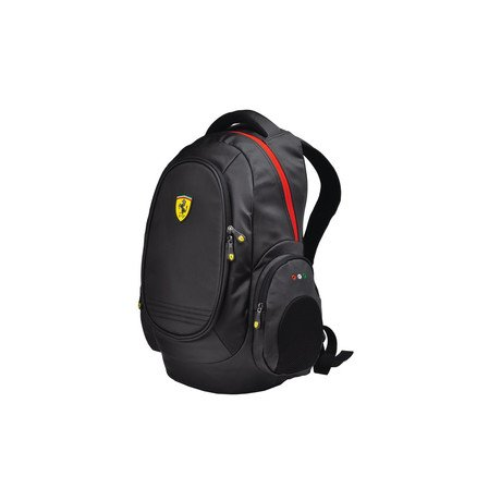 Ferrari Laptop Backpack // Black