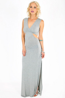 JANICE SIDE SLIT MAXI DRESS 39
