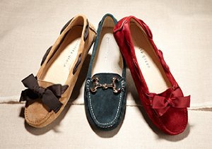 Patricia Green Moccassins
