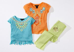 Up to 80% Off: Girls' Stylish Tops