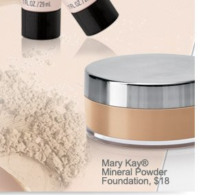 Mary Kay® Mineral Powder Foundation, $18