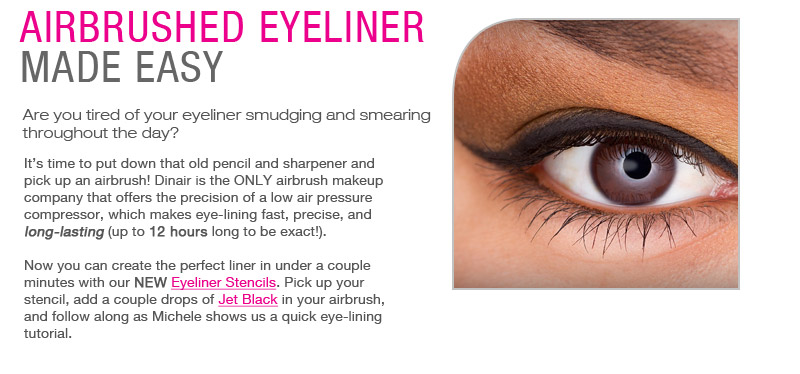 Airbrushed Eyeliner Made Easy