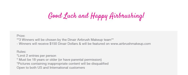 Good luck and Happy Airbrushing!