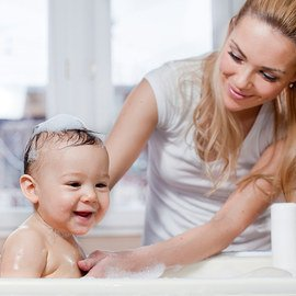 Bathing Baby Collection