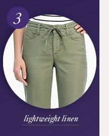 lightweight linens