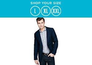 L-XXL: Shirts, Jackets & Shorts