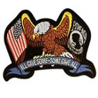 All Gave Some, Some Gave All POW Eagle Large Size Patch