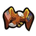 Officially Licensed Air Force and United States Flag Eagle 4X6 Inch Patch