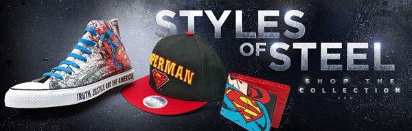 Shop Man of Steel at Journeys Now!