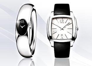 Calvin Klein Watches for Him & Her, Made in Switzerland