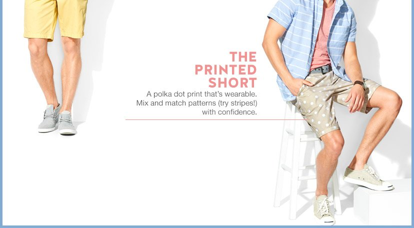 THE PRINTED SHORT