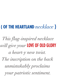 Of The Heartland Necklace