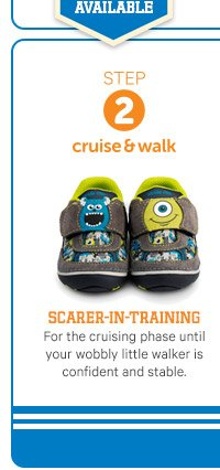 STEP 2 cruise & walk | Scarer-in-training