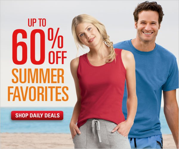 Up to 60% off Summer Favorites