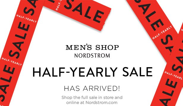 The Nordstrom Half-Yearly Sale for Men