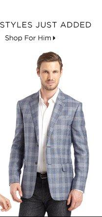 Premier Designer Styles Just Added...Shop For Him